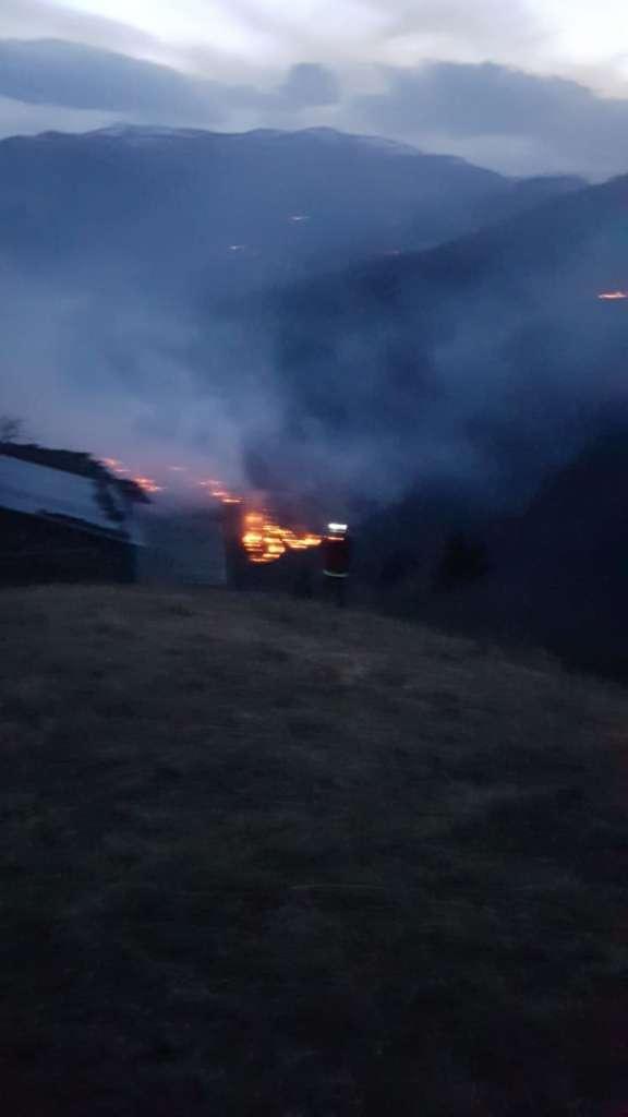 Holo'da iki gündür ormanlar yanıyor! 2