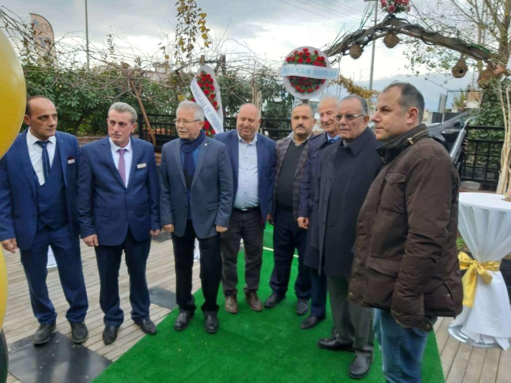 Kuymak Akhisar'da Cafe Ren'in açılışı yapıldı 9