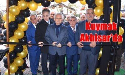 Kuymak Akhisar'da Cafe Ren'in açılışı yapıldı