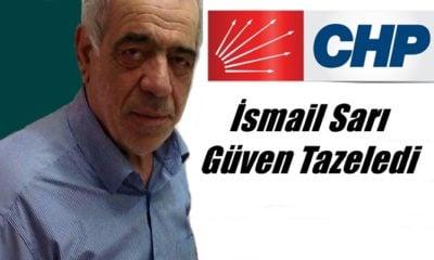 Çaykara CHP'de İsmail Sarı tekrar başkanlığa seçildi