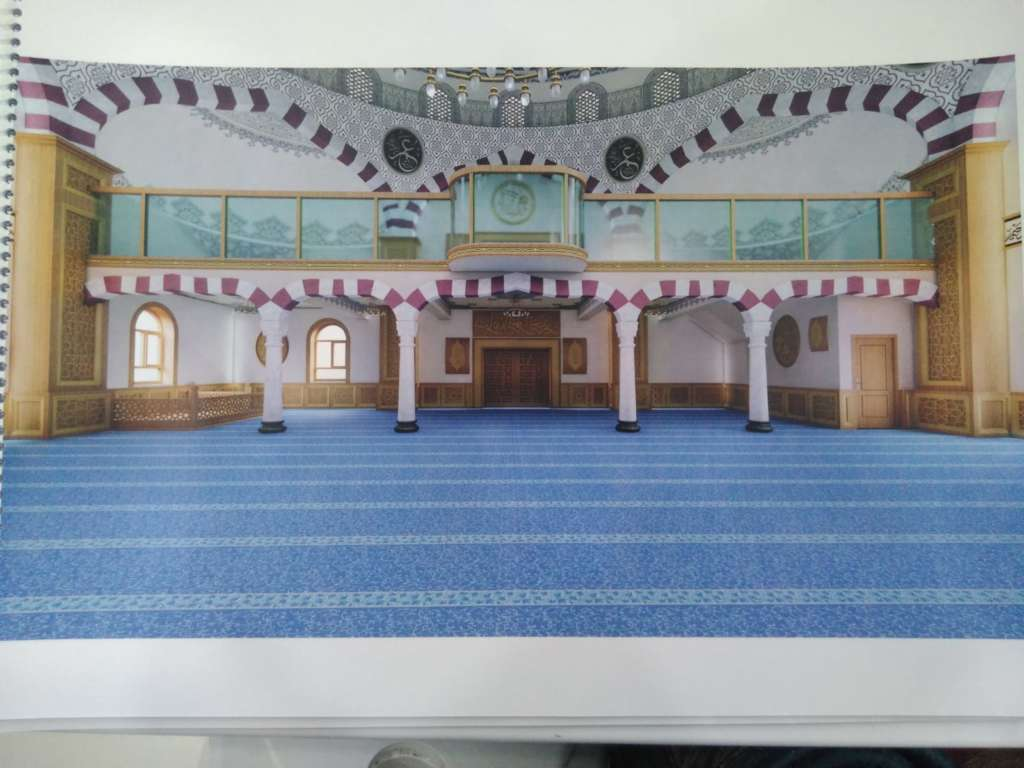 Çaykara Merkez Cami'nin onarımı devam ediyor 8