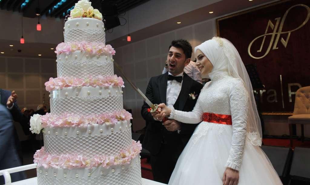 Esra ile Ahmet'in en mutlu günü 3