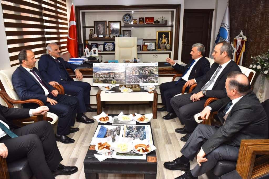 Başkan Zorluoğlu Çaykara'da incelemelerde bulundu 20