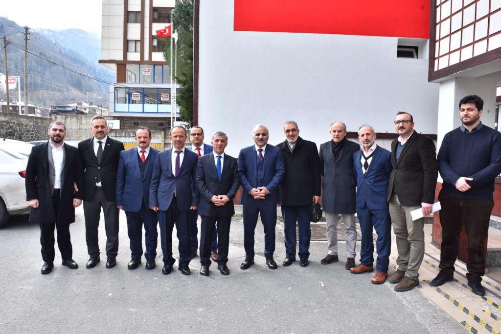 Başkan Zorluoğlu Çaykara'da incelemelerde bulundu 10