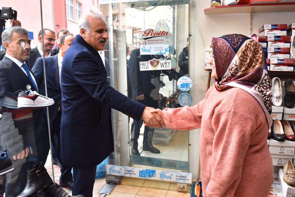 Başkan Zorluoğlu Çaykara'da incelemelerde bulundu 16