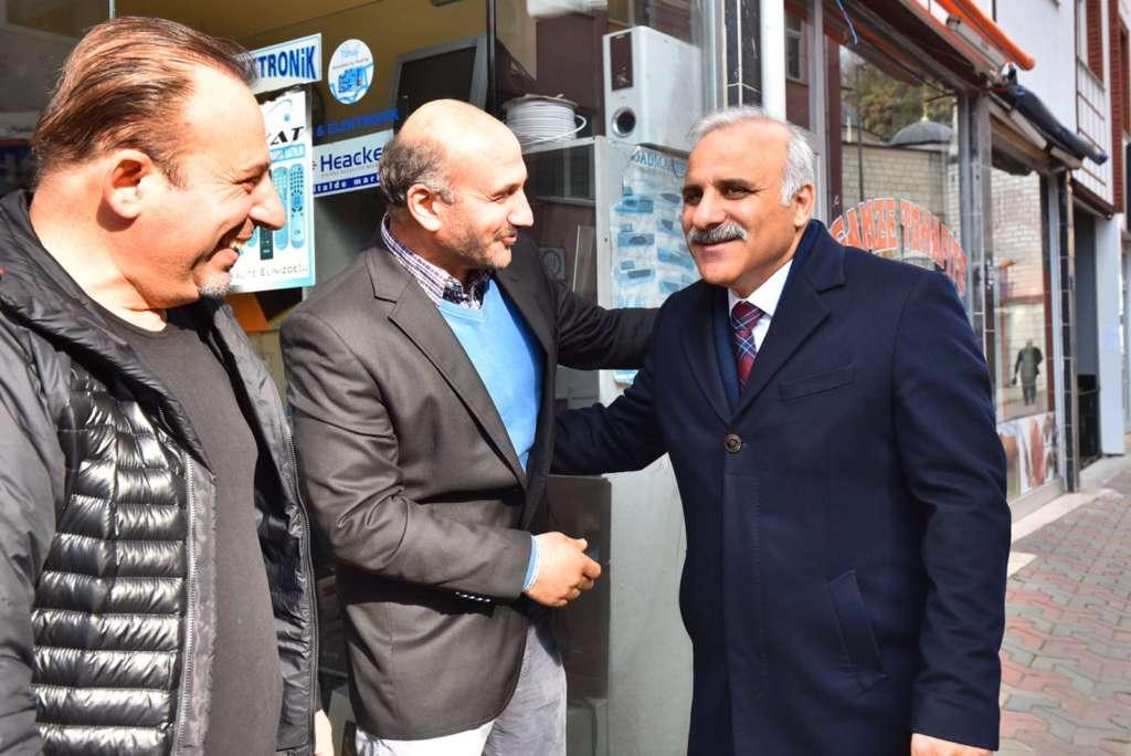 Başkan Zorluoğlu Çaykara'da incelemelerde bulundu 3