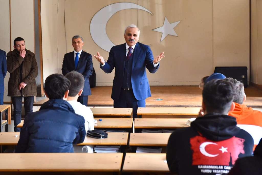 Başkan Zorluoğlu Çaykara'da incelemelerde bulundu 12