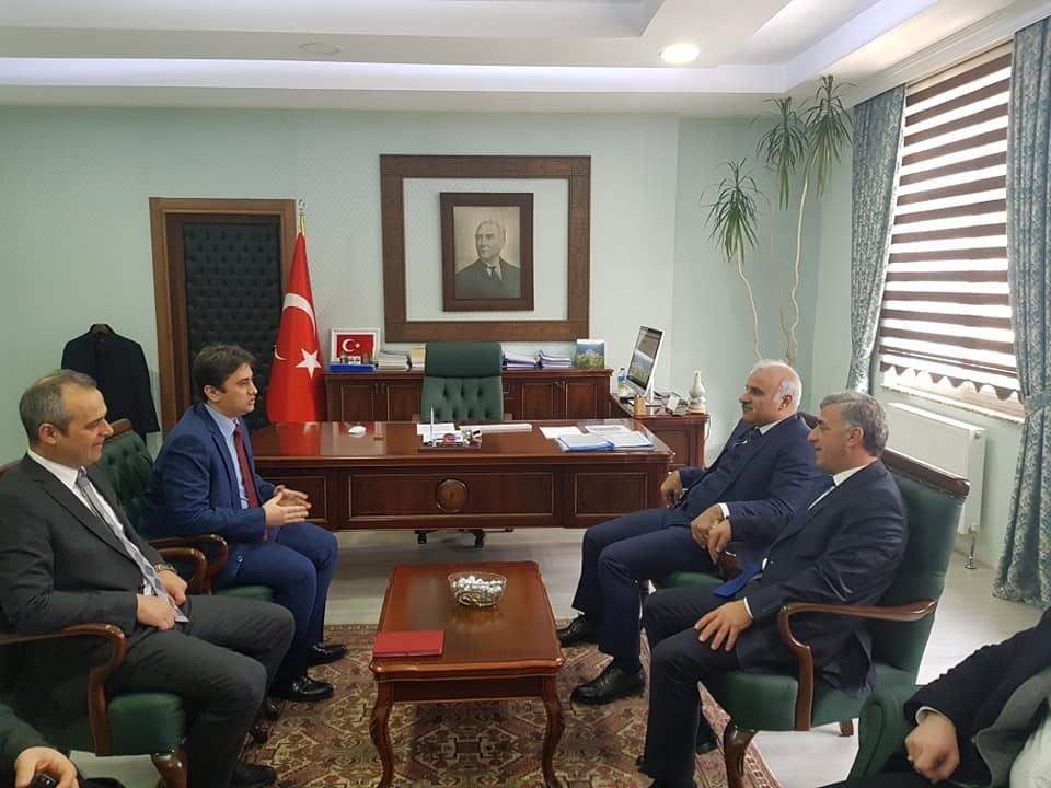 Başkan Zorluoğlu Çaykara'da incelemelerde bulundu 21