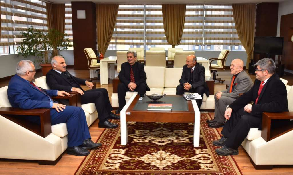 Ortahisar Gazeteciler Cemiyeti Başkan Zorluoğlu'a ziyaret 2