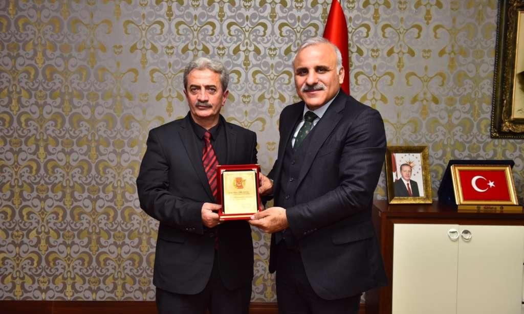Ortahisar Gazeteciler Cemiyeti Başkan Zorluoğlu'a ziyaret 1