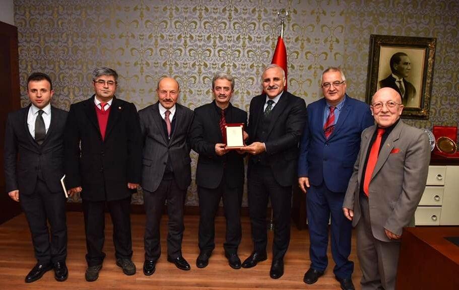 Ortahisar Gazeteciler Cemiyeti Başkan Zorluoğlu'a ziyaret 3