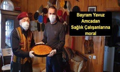 Bayram Yavuz'dan Sağlık Çalışanlarına Moral