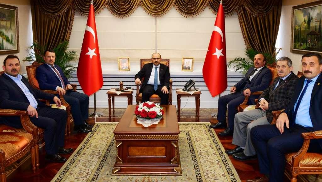 Çaykara Muhtarlar Derneği Trabzon'da ziyaretlerde bulundu!