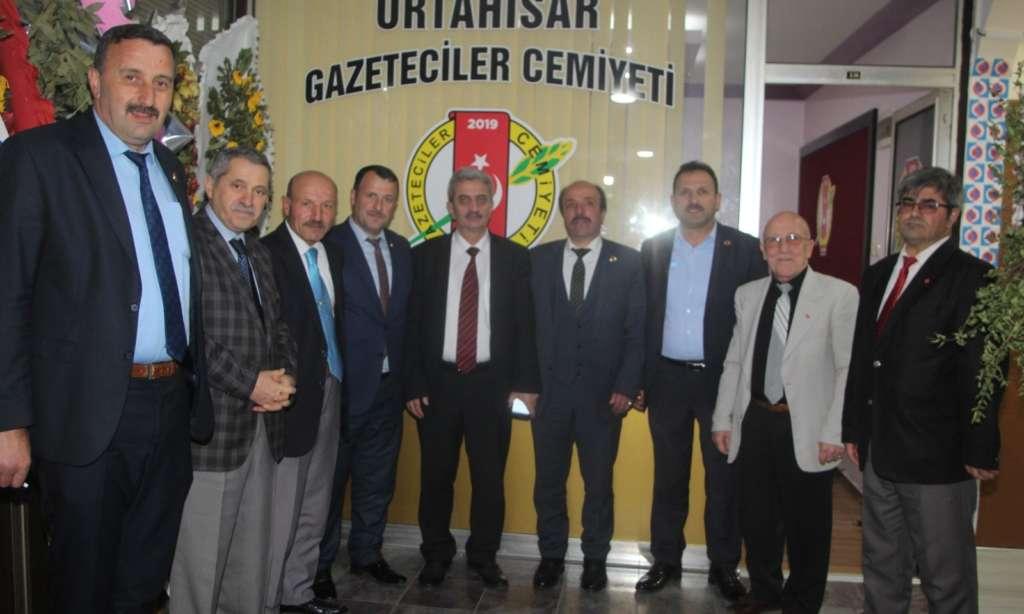 Çaykara Muhtarlar Derneği Trabzon'da ziyaretlerde bulundu! 2