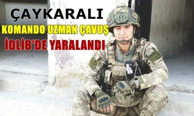 Komando Uzman Çavuş Göksü Çakmak İdlib'de yaralandı