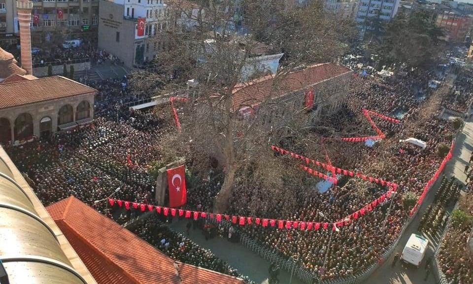 Şehit Kadir Tuncer mahşeri kalabalık ile uğurlandı! 2
