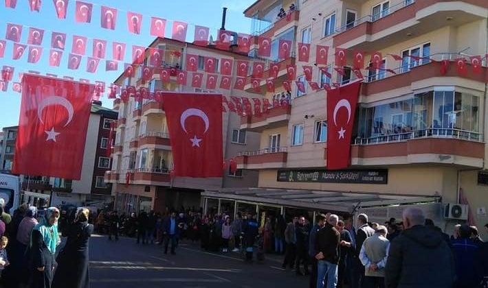Şehit Kadir Tuncer mahşeri kalabalık ile uğurlandı! 13