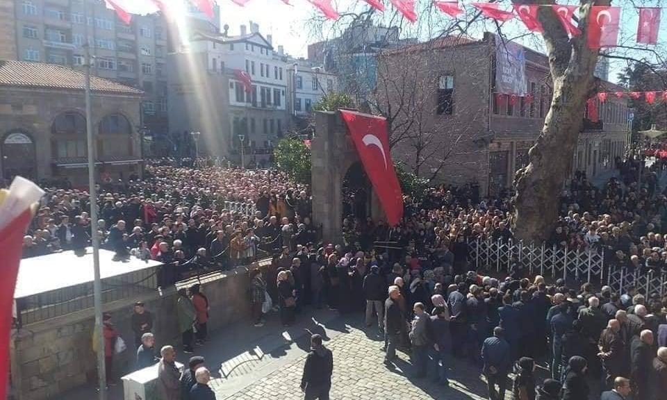 Şehit Kadir Tuncer mahşeri kalabalık ile uğurlandı! 14