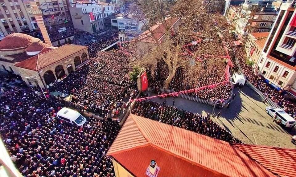 Şehit Kadir Tuncer mahşeri kalabalık ile uğurlandı! 6