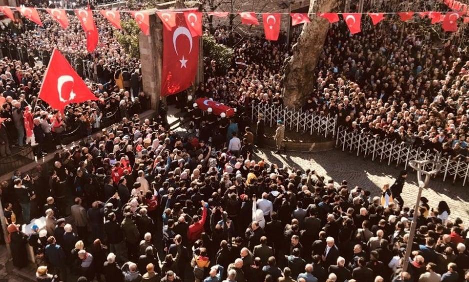 Şehit Kadir Tuncer mahşeri kalabalık ile uğurlandı! 8