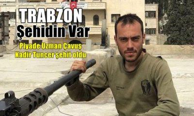 Şehidin var Trabzon!