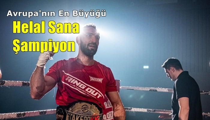 Yavuz Selim Kazancı Avrupa şampiyonu