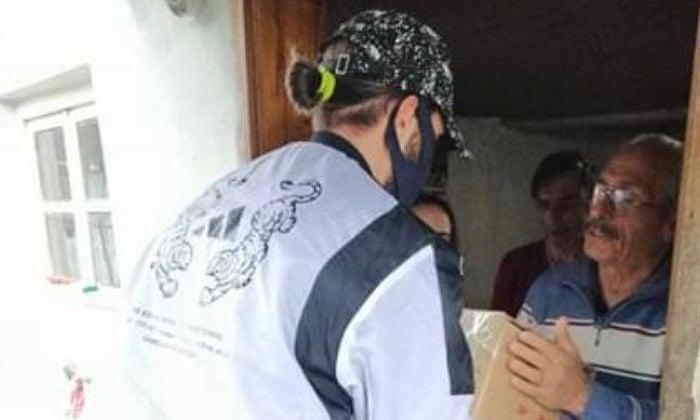 Yusuf Yazıcı'dan Trabzon'daki ihtiyaç sahiplerine erzak yardımı 2