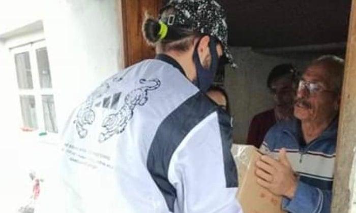 Yusuf Yazıcı'dan Trabzon'daki ihtiyaç sahiplerine erzak yardımı 3