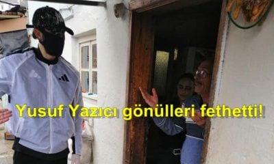 Yusuf Yazıcı'dan Trabzon'daki ihtiyaç sahiplerine erzak yardımı