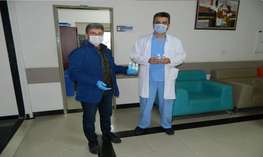 Çaykaralı Başkan Prof.Dr.Fehmi Çelebi (Covid19) ile mücadeleye devam ediyor 6