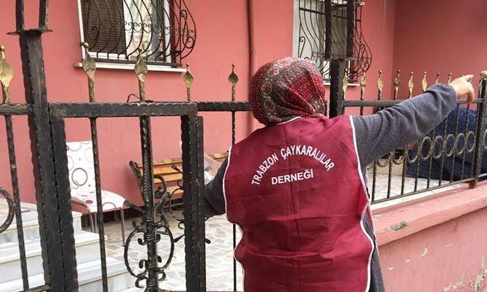 Çaykaralılar Derneği Ramazan ikram paketini ihtiyaç sahiplerine ulaştırdı 10