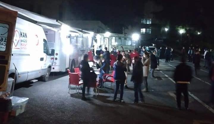 Çaykaralı Müdür Kızılay Kan merkezine 150 ünite kan bağışlamasına öncülük etti 2