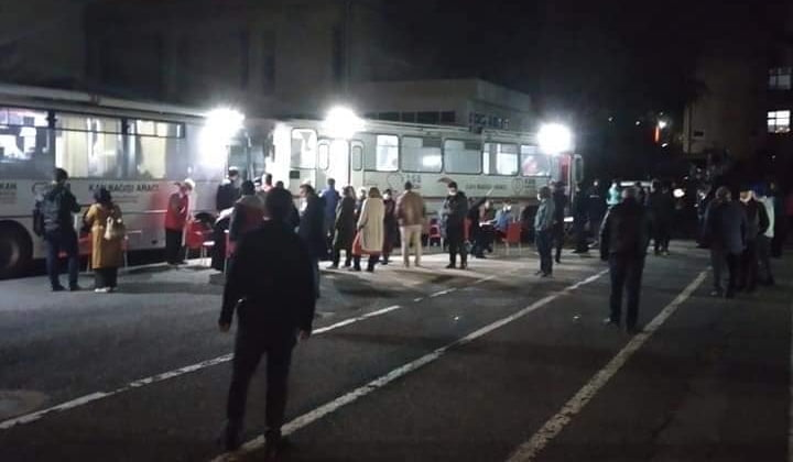 Çaykaralı Müdür Kızılay Kan merkezine 150 ünite kan bağışlamasına öncülük etti 4