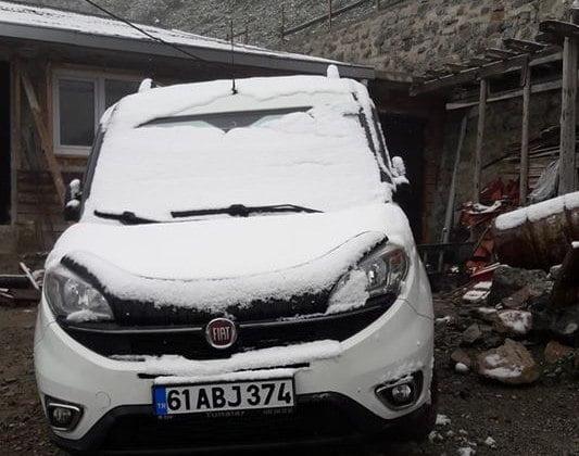 Mayıs'ta kar Sürprizi yaşandı 4