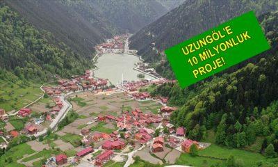 Uzungöl'e 10 Milyon TL'lik yatırım
