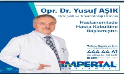 Opr. Dr. Yusuf Aşık Özel İmperial Hastanesi'nde