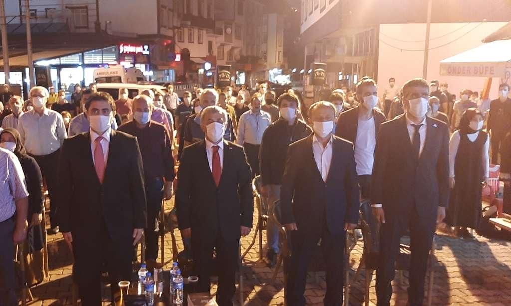 15 Temmuz Demokrasi Zaferi ve Şehitleri Anma Günü programı
