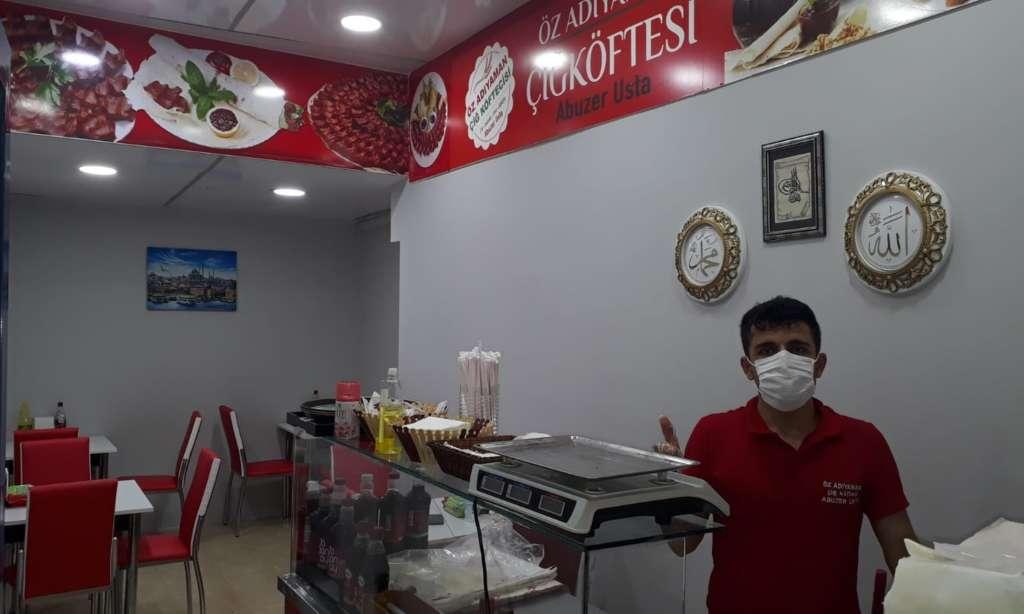 Çaykara'da Çiğ Köfte Dükkanı açıldı 2