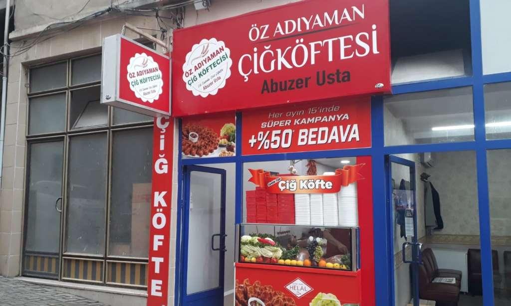 Çaykara'da Çiğ Köfte Dükkanı açıldı 5