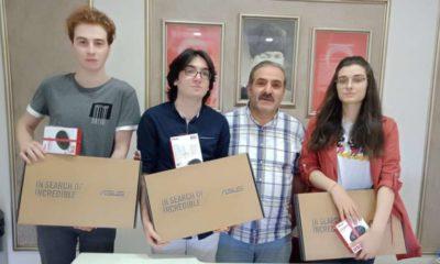 Çaykaralı Müdür Hilmi Mutlu Üniversite Sınavlarında başarıları devam ediyor