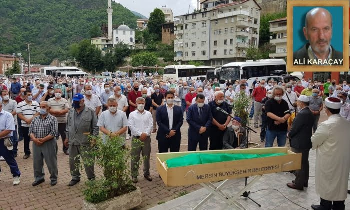 Emekli Vaiz Ali Karaçay dualarla sonsuza uğurlandı