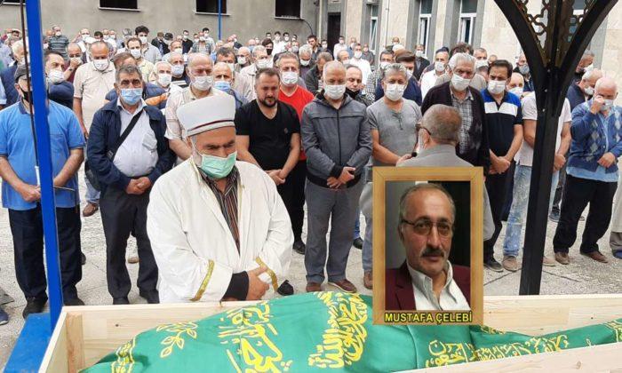 Mustafa Çelebi dualarla son yolculuğuna uğurlandı