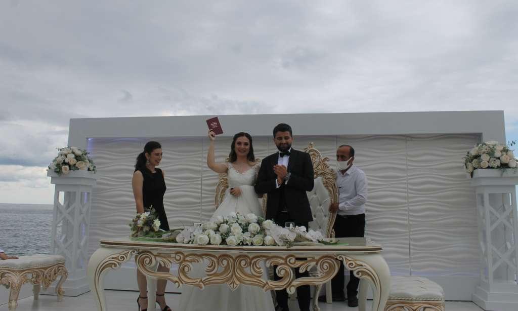 Aleyna ile Abdultalib'in en mutlu günü 7