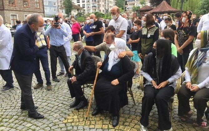 Çaykaralı Ünlü Prof Dr. Turan Erdoğan dualarla son yolculuğuna uğurlandı 2