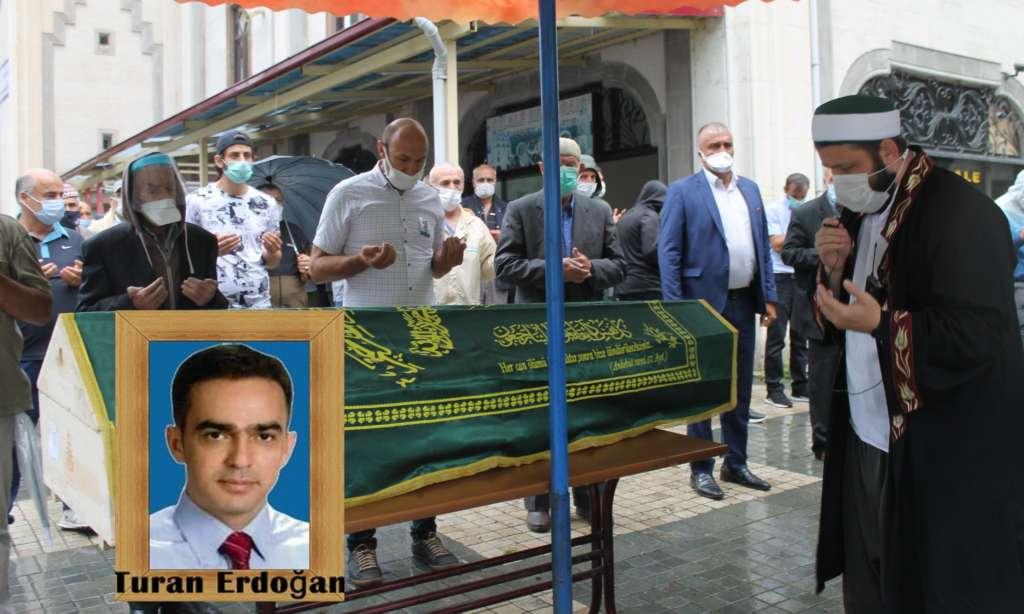 Çaykaralı Ünlü Prof Dr. Turan Erdoğan dualarla son yolculuğuna uğurlandı
