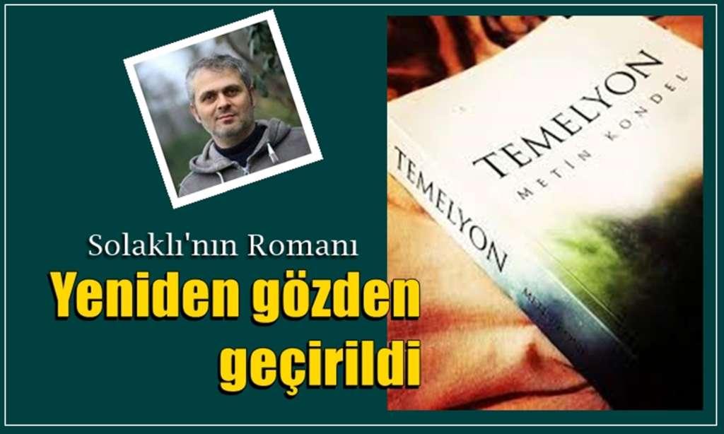 Solaklı Vadisi Romanı Temelyon yeniden yayınlandı