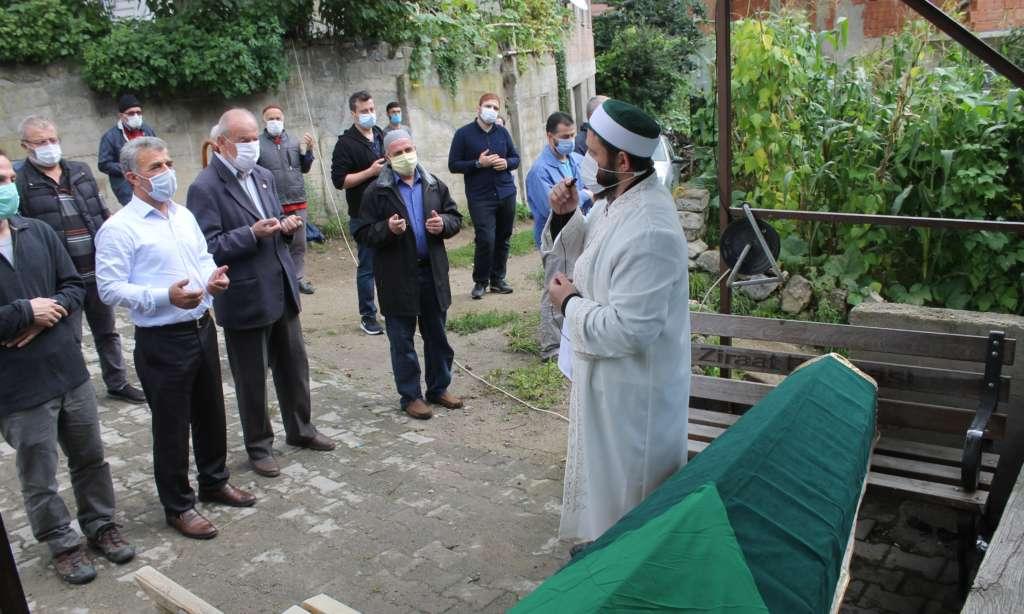 Taşkıran'dan Emine Şahin sonsuza uğurlandı