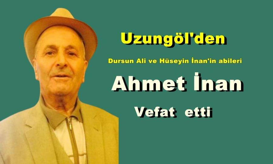 Ahmet İnan Almanya'da vefat etti