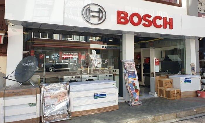Çaykara'da Bosch mağazası hizmete açıldı