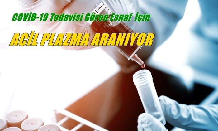 Çaykara'da Kovid-19'a yakalanan esnaf için plazma bağışçısı aranıyor